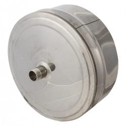 Заглушка Д160 с конденсато-отводчиком (Н-0.5)